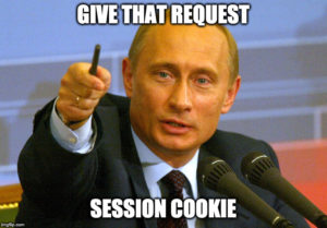 Fun of bypassing CSRF protection - Putting giving a request a session cookie